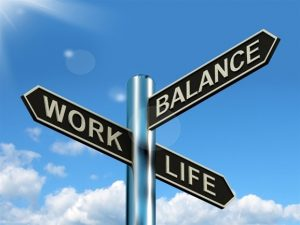 Louise R. Rysiecki, first year business student at Southampton, asks if the work-life balance is actually still applicable to modern work.
