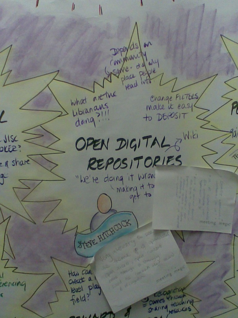 JIF: Thunderbolts, open digital repositories - graphic