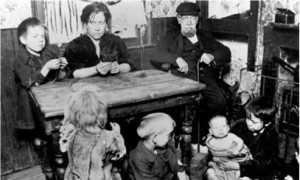 Archives dating back 150 years make it possible to trace shifts in perceptions of disadvantaged families