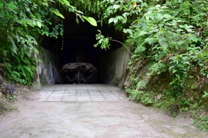 Japanese Barge Cave in Rabaul
