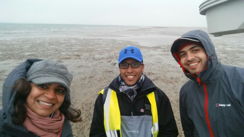 End of day Fieldwork selfie (photo by Alanoud Alragum)