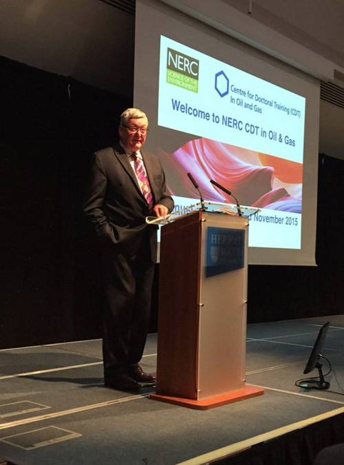 Fergus Ewing, MSP, speaking at the NERC CDT Annual Conference 2015