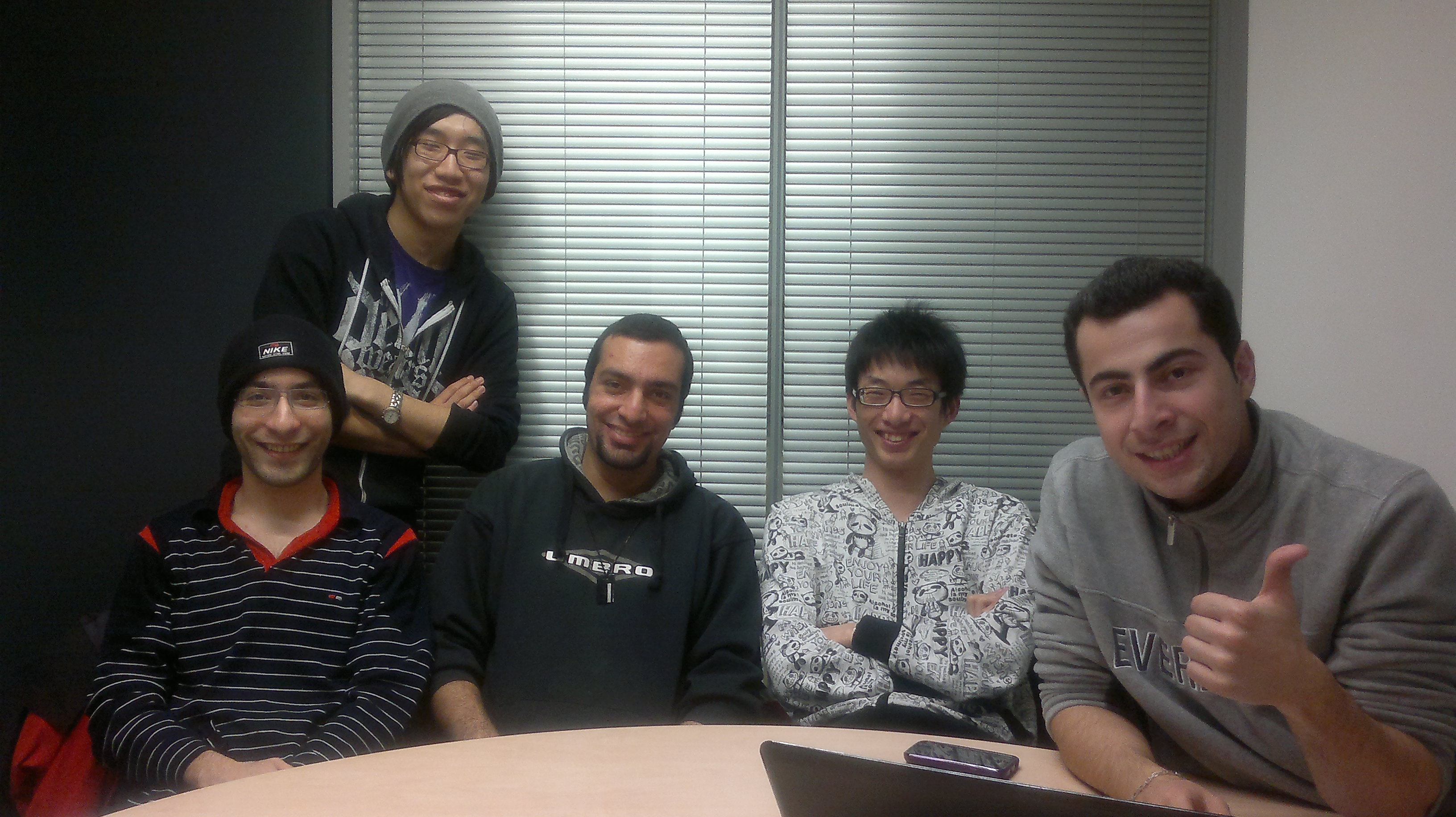 The Second Meeting Of Our Team Members