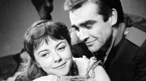 Sean Connery and Dorothy Tutin in the 1960 BBC adaptation of Colombe, one of the television dramas recovered by the Library of Congress