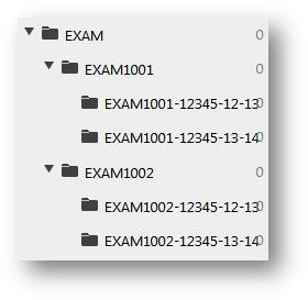 Each folder is now a subfolder of the 4 character subject code and 8 character course code