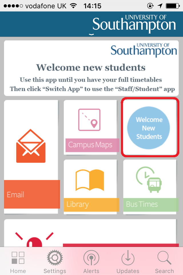 University Of Southampton Mobile Apps For Pre Sessional