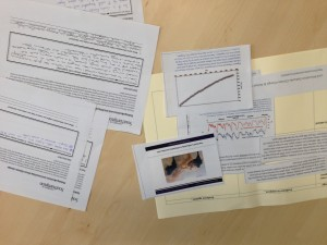 some of the work produced during a climate change activity