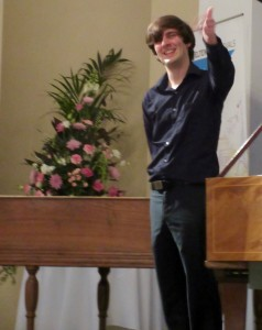 Christopher and the two harpsichords