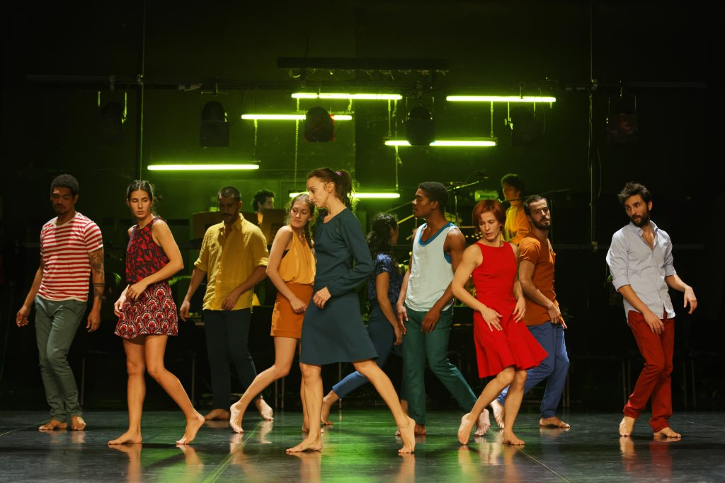 The Paulo Ribeiro Dance Company performing in Paris (credit: José Alfredo)