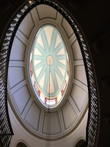 The staircase hall at Elizabeth Bay House