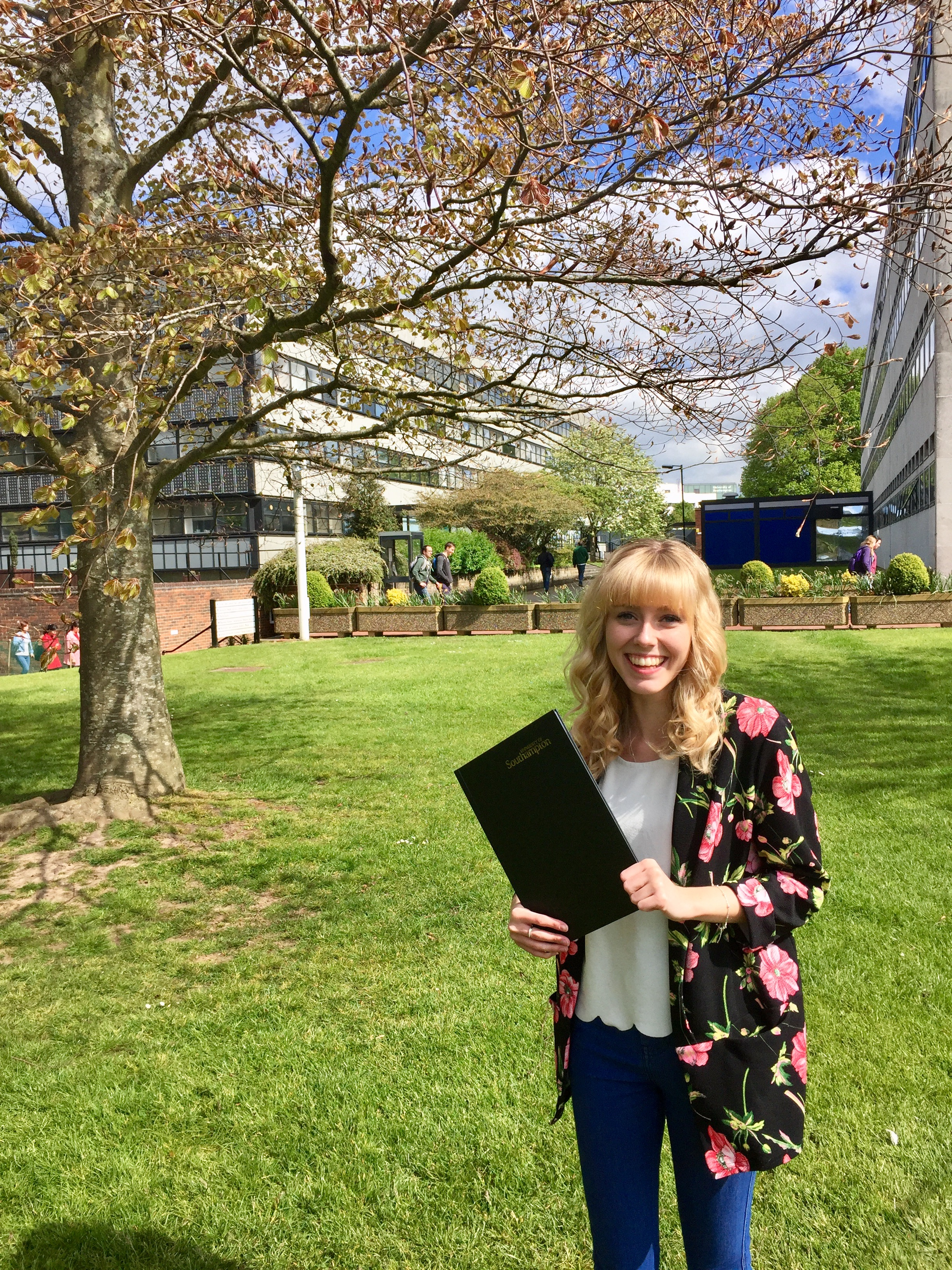 Beth and her dissertation - the joy and relief of completion . . .