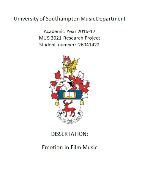 Dissertation of the year