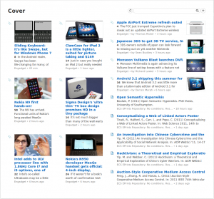 Feedly Engadget