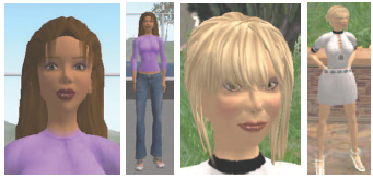 Figure 1: An example of a 3D avatar [2]