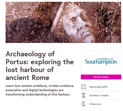 Archaeology of Portus course - coming soon 2015