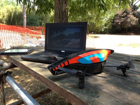 Parrot AR Drone at Portus