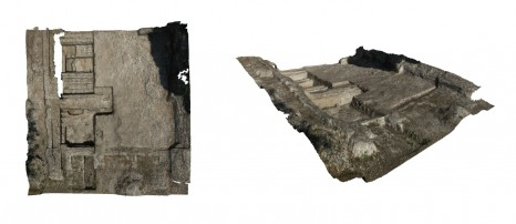 Photogrammetry model of the 2013 excavation of the Navalia