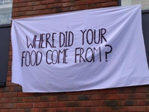 Where did your food come from?