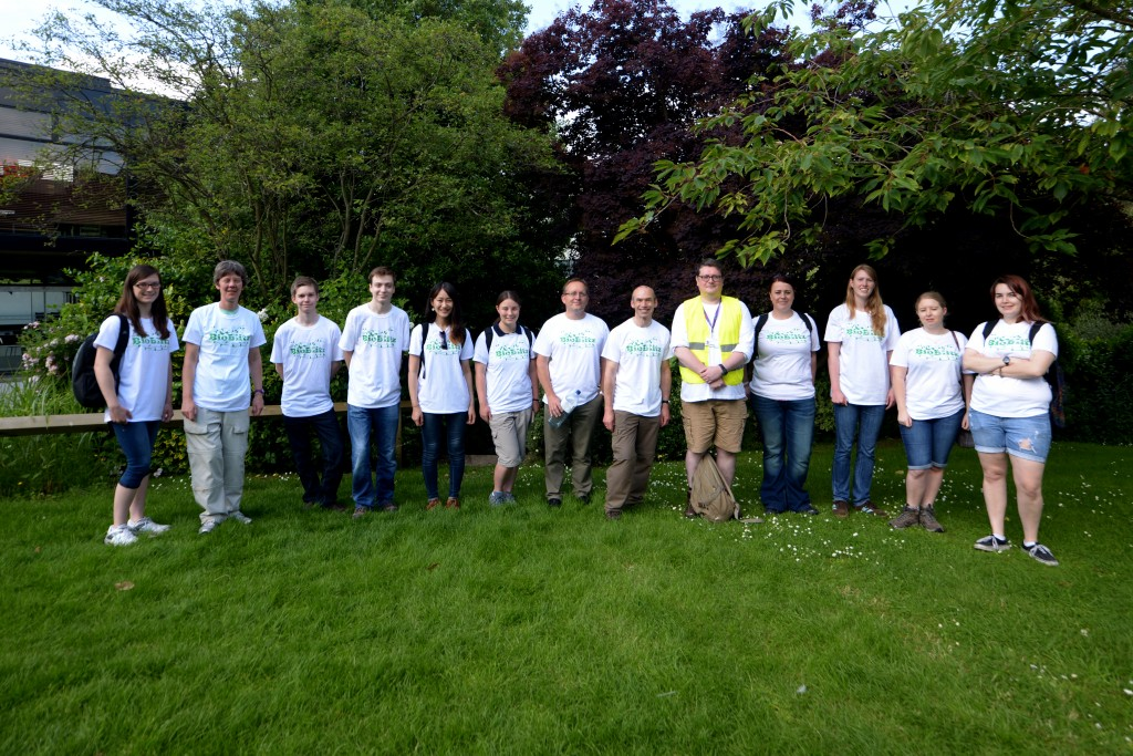 BioBlitz volunteers