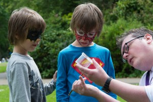 Local superheroes taking part