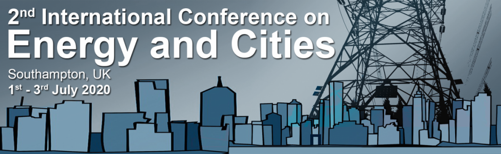 Energy and cities conference banner image