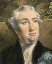 Simon Taylor c. 1785. Detail of a painting by Daniel Gardner.