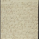 A page from one of Taylor's many transatlantic letters. Courtesy of the Institute of Commonwealth Studies Library. Click to enlarge.