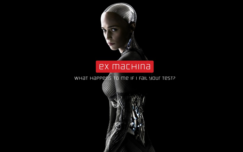 "Promo of the film ""Ex-machina"""