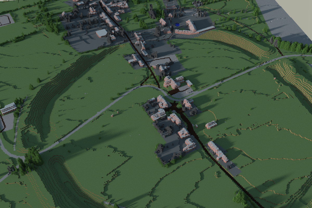Avebury from open data sources.