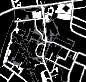 Three colour map of the Univercity