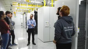 Data centre tour