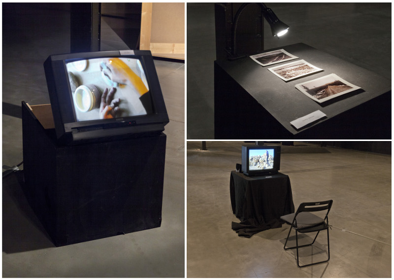 Pieces by María Andueza, Sandra Santana and José Otero, specifically produced as contributions to the project