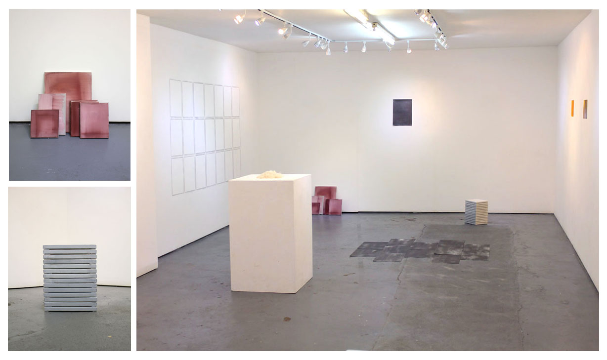 Figure 4. Installation shot of interim PhD exhibition.