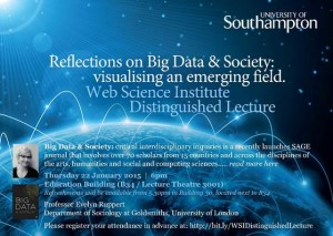 distinguished lecture 22nd Jan