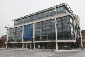 Picture of front entrance of 1 Guildhall Square