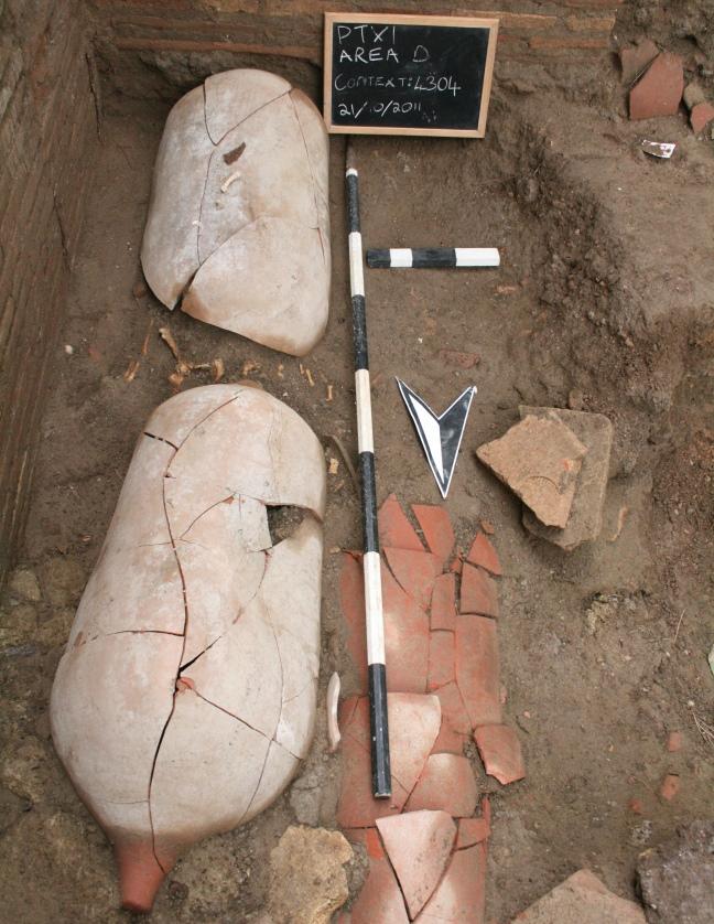 Amphora burial