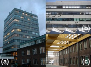 Photo of buildings at the University of Southampton included in user surveys