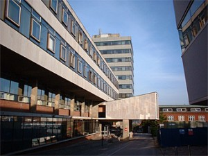 Fig. 1 - Typical 1960's single glazed office buildings at the University of Southampton.